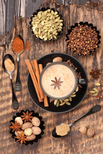Специи для приготовления чая масала