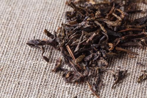 Листья китайского чая пуэр