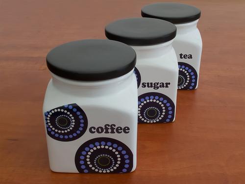 Герметичные контейнеры для хранения кофе, сахара, чая