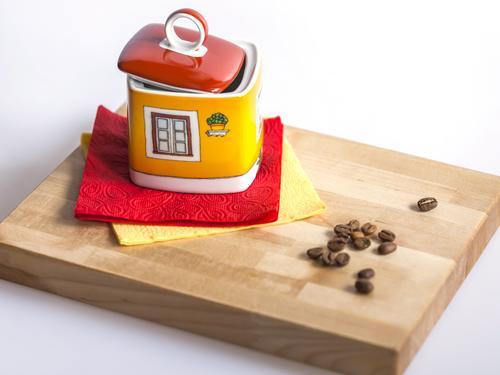 Керамическая емкость для хранения кофе
