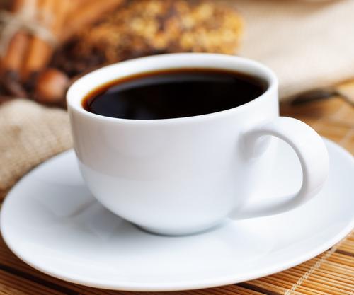 Чашка быстрорастворимого кофе