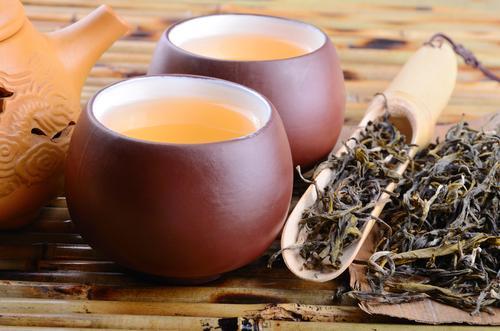 Зеленый молочный чай улун