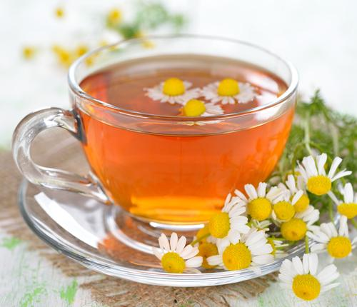 Чай из цветков аптечной ромашки