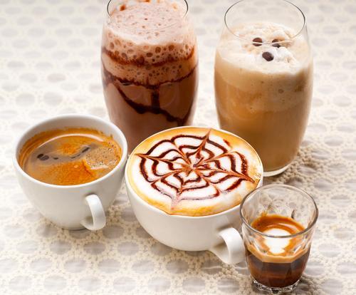 Многообразие кофейных напитков