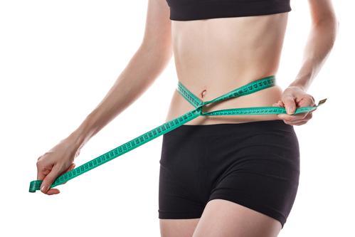 Измерение талии после похудения