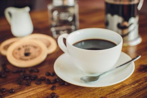 Чашка кофе без кофеина