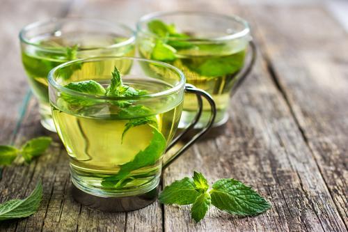 Витаминный чая с мятой