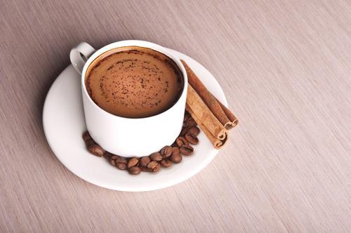Чашечка ароматного натурального кофе
