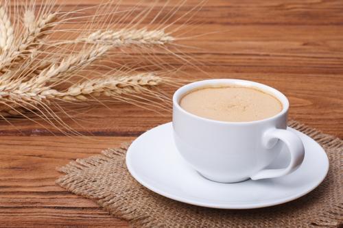 Чашка ячменного кофе