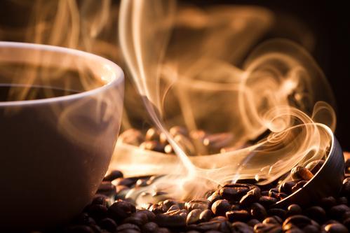 Чашка кофе с морожным
