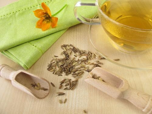 Чашка чая с фенхелем