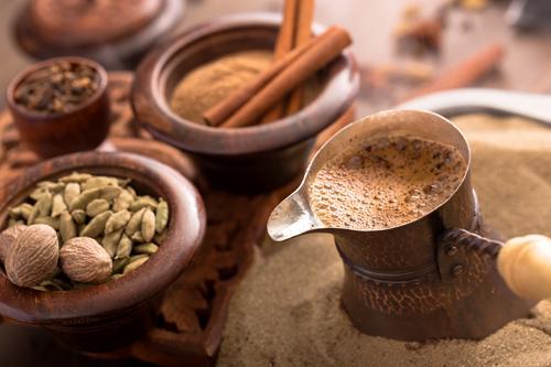 Приготовление на песке кофе по-турецки