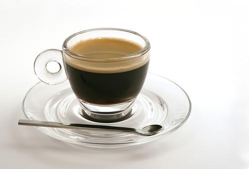Стеклянная чашка кофе