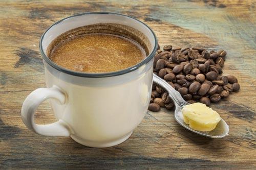 Кофе из натуральных зерен с маслом