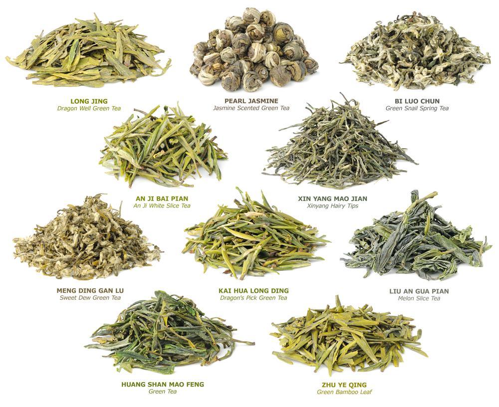 Самые знаменитые китайские зеленые чаи