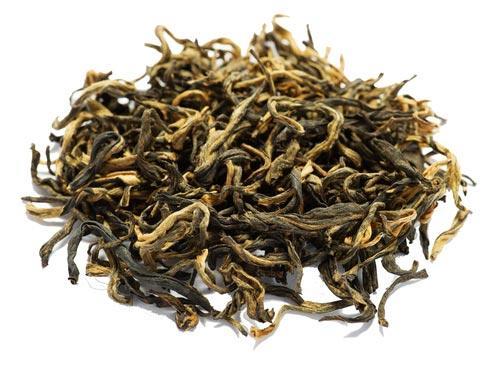 Листочки чая Цзинь Хао Дянь Хун
