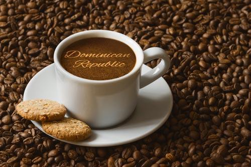 Свежезавареный кофе из Доминиканы