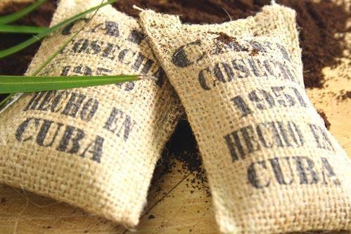 Мешки с кубинским кофе
