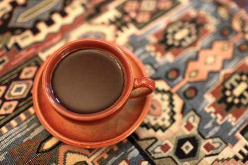 Приготовленный кофе армянским способом