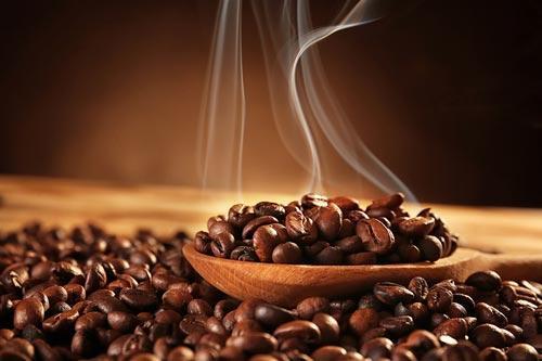Обжаренные кофейные зерна