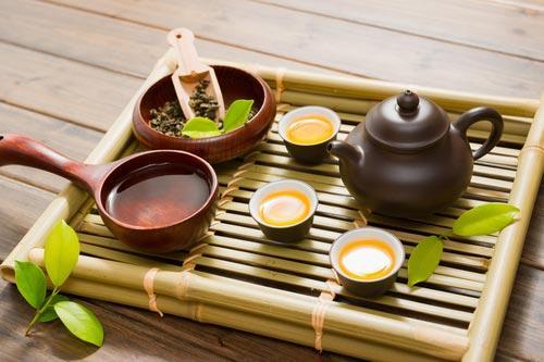 Доска из бамбука для чайной церемонии
