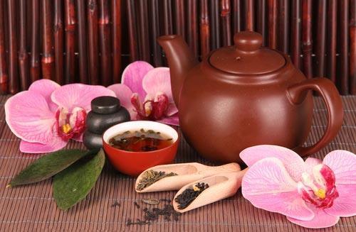 Чашка красного чая Исин Хун Ча