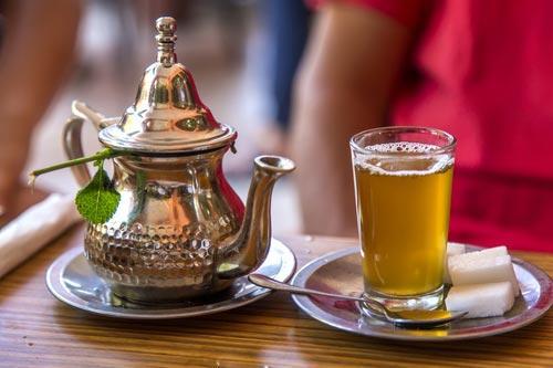 Чай с марокканской мятой