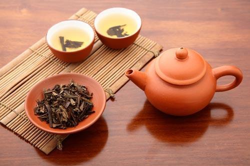 Заваренный китайский чай