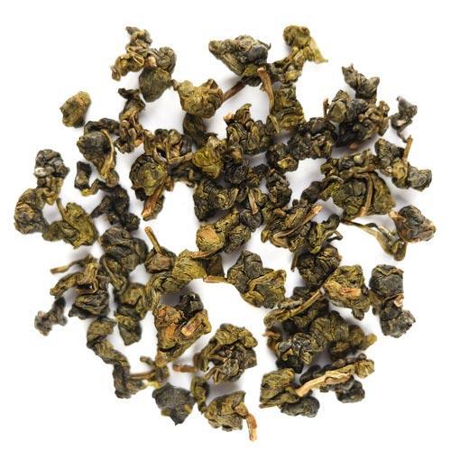 Листочки чая Дун Дин в сухом виде