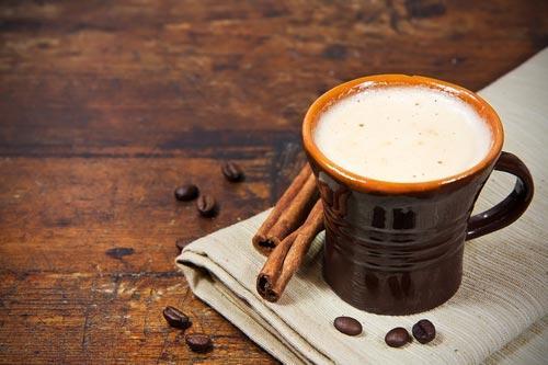 Кофе с пряностями на молоке