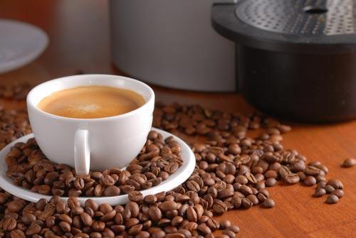 Чашка натурального ароматного кофе