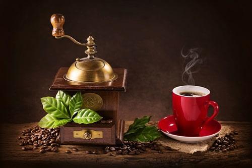 Ароматный кофе с запахом ванили