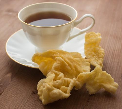 Подача чая по-татарски