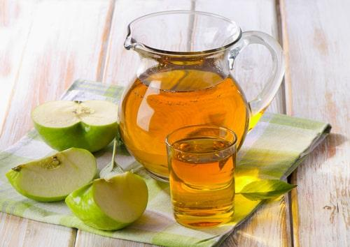 Морс из свежих яблок