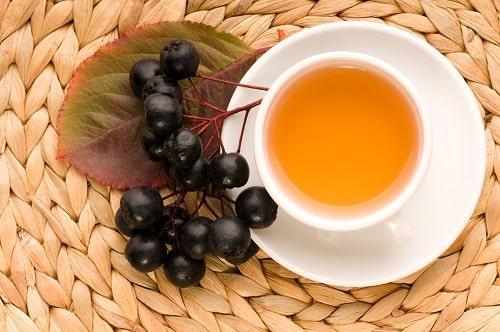 Чай из ягод аронии черноплодной