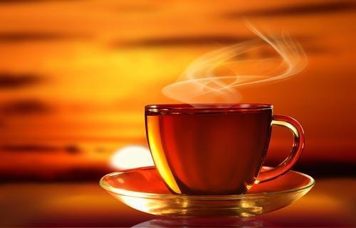 Чашка свежезаваренного чая