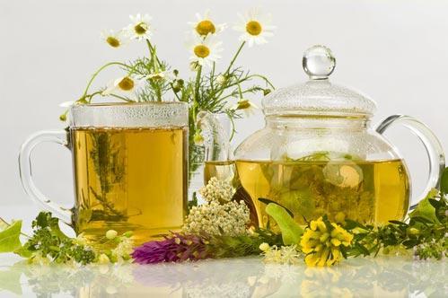 Чаи из трав, цветов и листьев