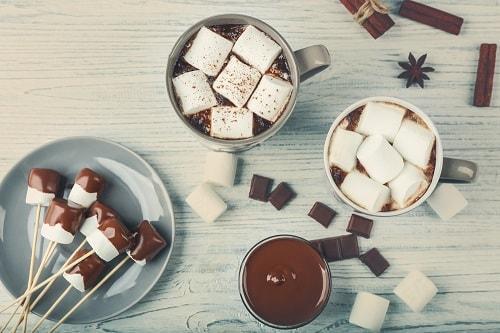 Какао с шапочкой из маршмеллоу