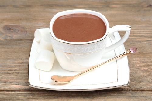 Готовое какао с молоком и добавками
