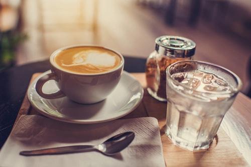 Подача воды к кофе раздельно