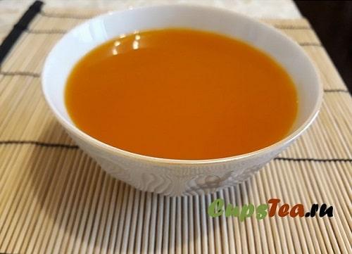 Свежевыжатый сок из тыквы