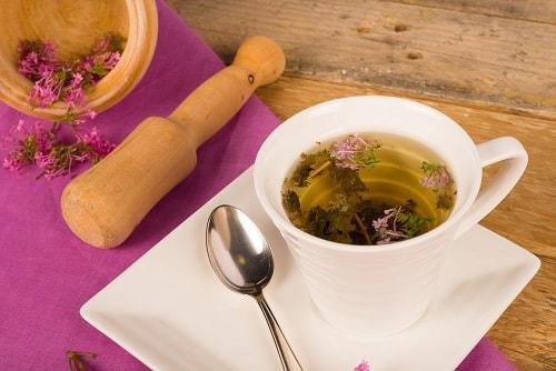 Чай из сушеной валерианы