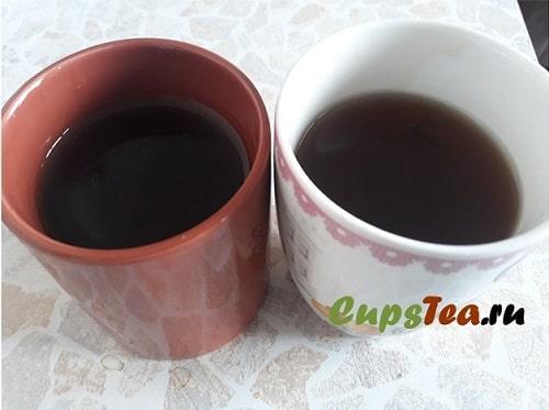 Готовый чайный кисель